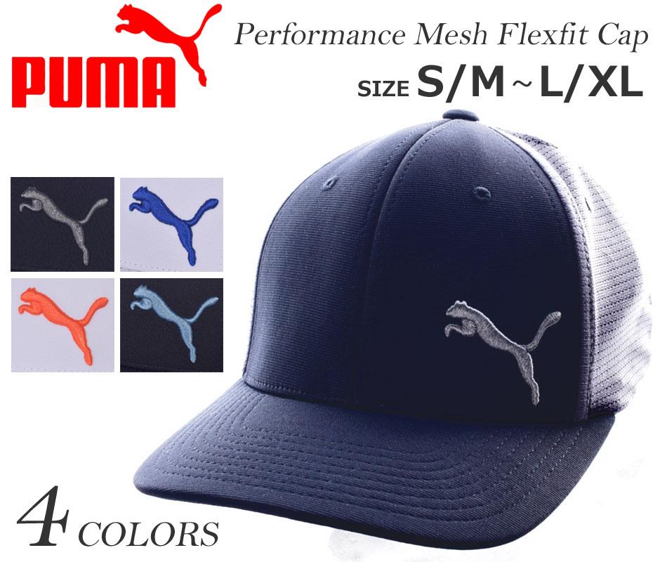 24a59a023a681 ... clearance puma cap hat mens cap menswear wear mens performance mesh flex  fit cap 73dfc 73e94