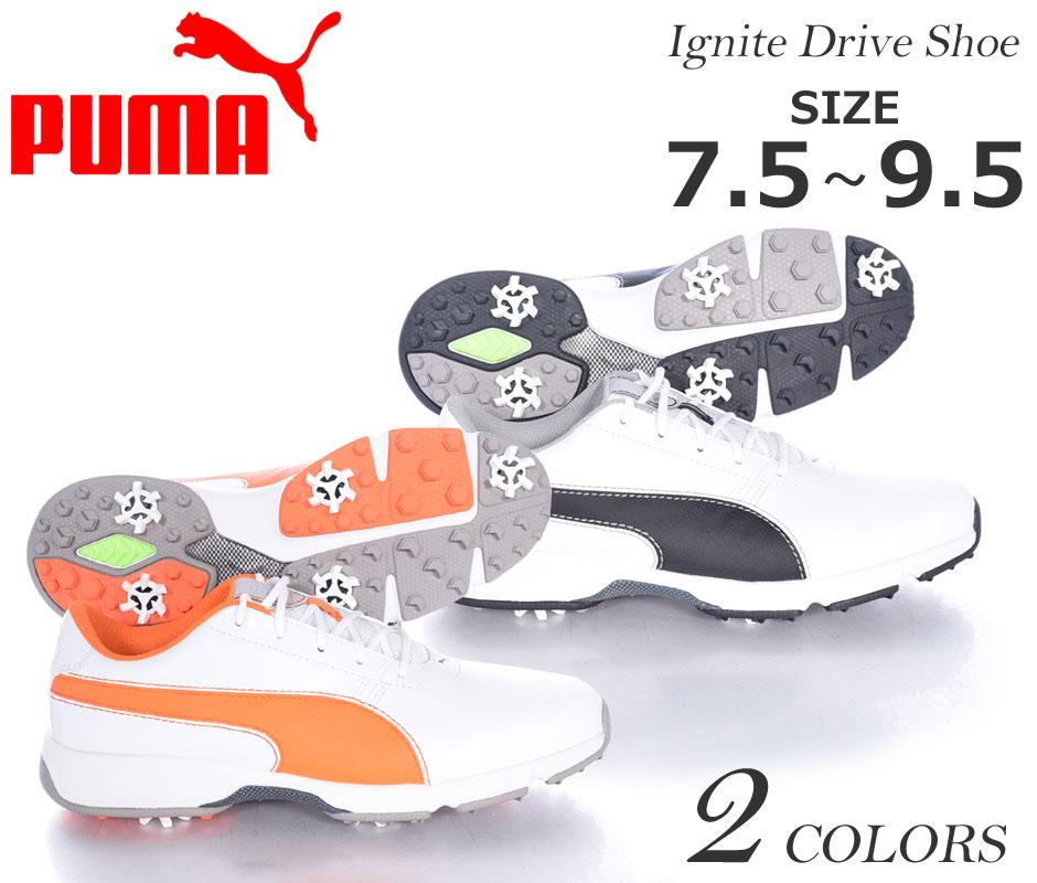(在庫処分)プーマ Puma シューズ メンズ ゴルフシューズ ゴルフウェア イグナイト ドライブ シューズ 大きいサイズ USA直輸入 あす楽対応