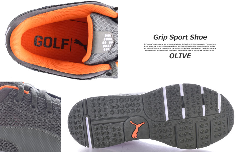 74c472cc447d Big puma shoes men s golf shoes golf balls grip sports shoes sizes USA  imports