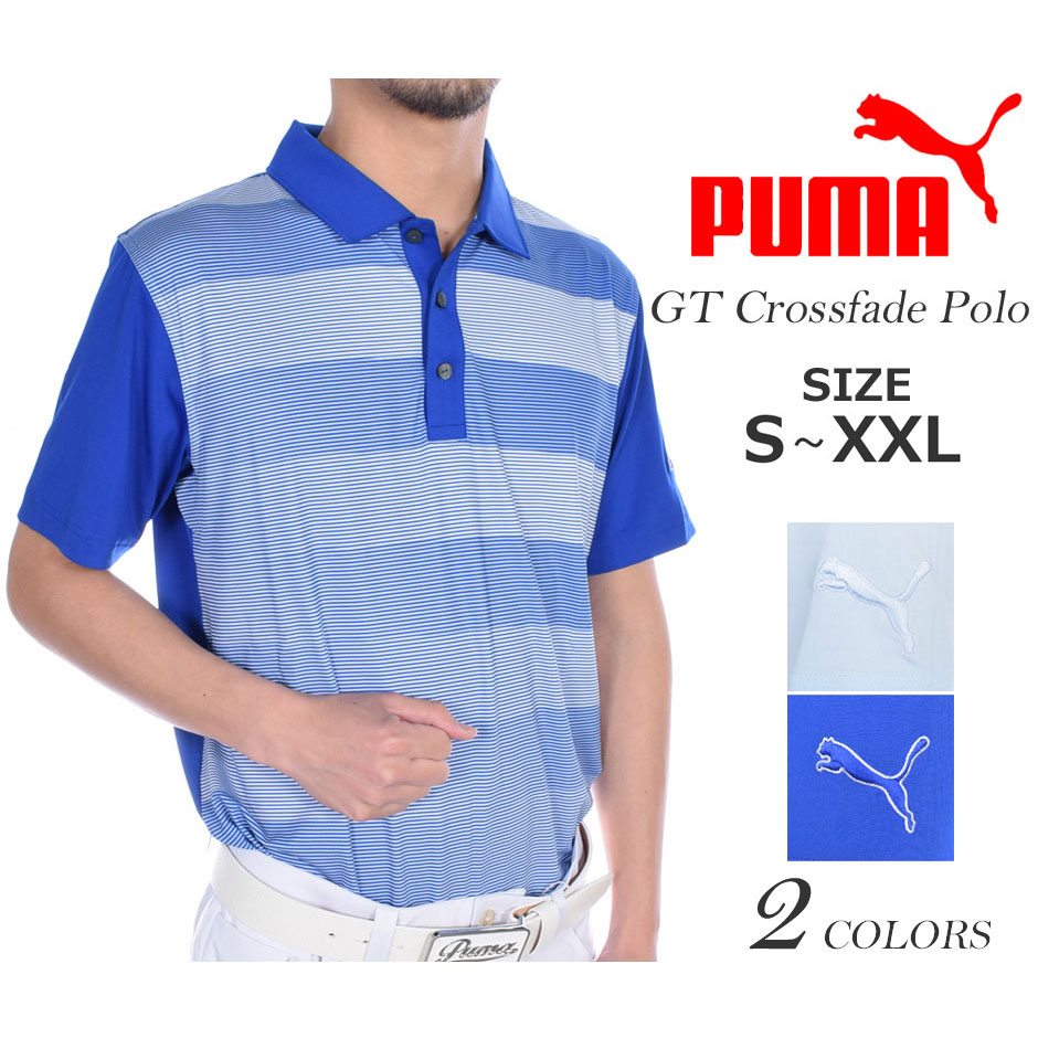 メンズウェア プーマ Puma パウンス ゴルフウェア 大きいサイズ USA直輸入 アストン あす楽対応 半袖ポロシャツ ゴルフポロシャツ