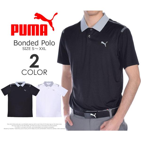 (在庫処分)プーマ Puma ゴルフウェア メンズウェア ゴルフポロシャツ ボンデッド 半袖ポロシャツ 大きいサイズ USA直輸入 あす楽対応