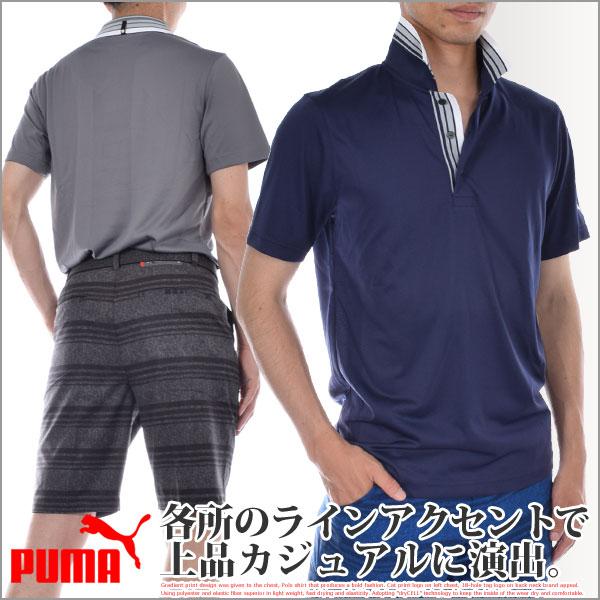 プーマ Puma ゴルフウェア メンズウェア ゴルフポロシャツ エグゼクティブ 半袖ポロシャツ 大きいサイズ USA直輸入 あす楽対応