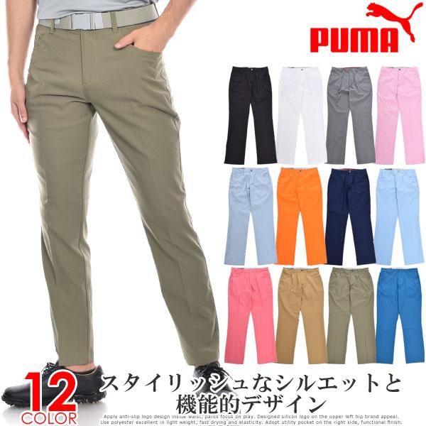 プーマ Puma ゴルフウェア メンズ ゴルフパンツ ロングパンツ ボトム メンズウェア ジャックポット 5 ポケット パンツ 大きいサイズ USA直輸入 あす楽対応