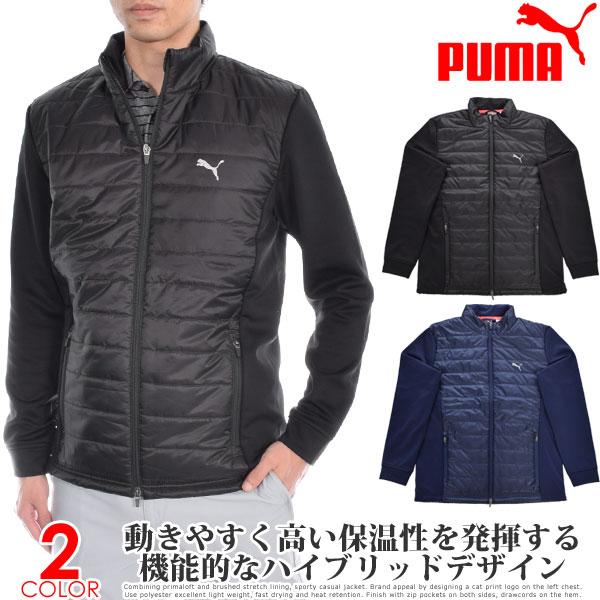 プーマ Puma ゴルフウェア メンズ 秋冬ウェア 長袖メンズウェア キルト プリマロフト 長袖ジャケット 大きいサイズ USA直輸入 あす楽対応