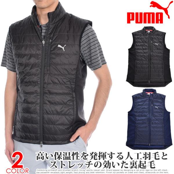 (スペシャル感謝セール)プーマ Puma ゴルフウェア メンズウェア ゴルフベスト キルト プリマロフト ベスト 大きいサイズ USA直輸入 あす楽対応