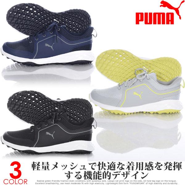 プーマ Puma シューズ メンズ ゴルフウェア グリップ フュージョン スポーツ 2.0 ゴルフシューズ 大きいサイズ USA直輸入 あす楽対応