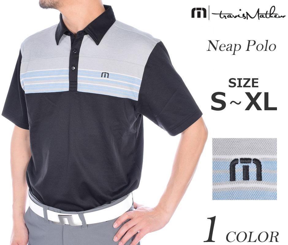 トラビスマシュー ゴルフウェア メンズウェア ゴルフ TravisMathew ニープ 半袖ポロシャツ 大きいサイズ USA直輸入 あす楽対応