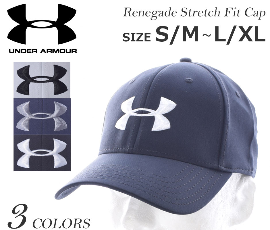 new arrivals 97ba5 d830b It supports under Armour UNDER ARMOUR キャップゴルフウェアメンズレネゲードストレッチフィットキャップ USA  direct ...