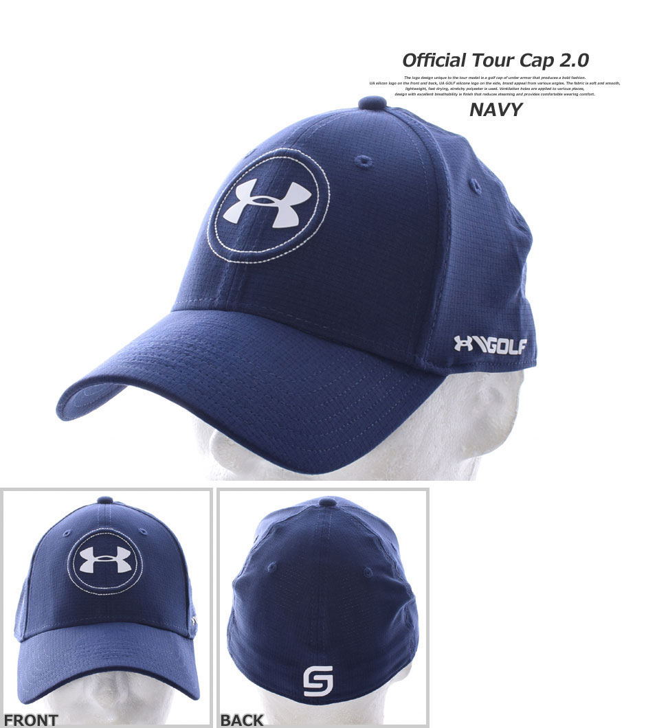 7febfad9be0 golfwear-usa  Under Armour UNDER ARMOUR cap golf wear men official ...