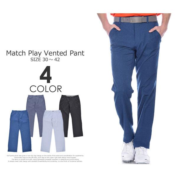 (ポイント5倍)ゴルフパンツ メンズ 春夏 ゴルフウェア メンズ パンツ おしゃれ (J・スピース着用モデル)アンダーアーマー UNDER ARMOUR ボトム マッチプレー ベント パンツ 大きいサイズ USA直輸入 あす楽対応