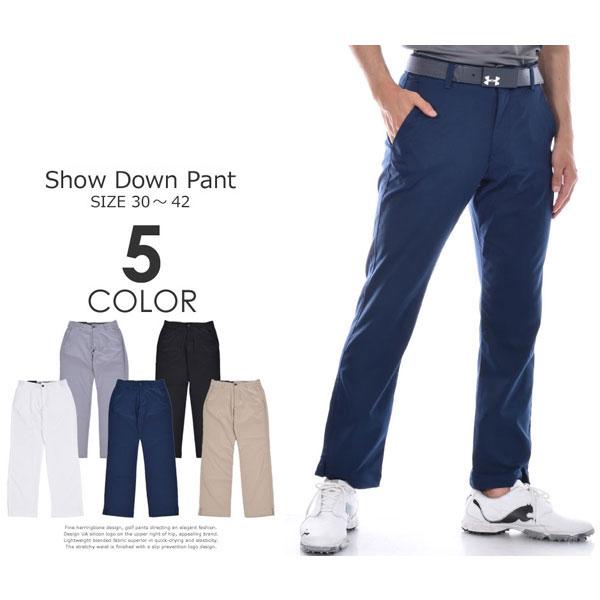 (ポイント2倍)(J・スピース着用モデル)アンダーアーマー UNDER ARMOUR ゴルフパンツ メンズ おしゃれ パンツ ボトム ショー ダウン パンツ 大きいサイズ USA直輸入 あす楽対応