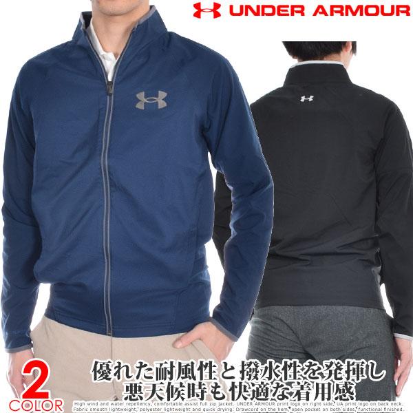 アンダーアーマー UNDER ARMOUR ゴルフウェア メンズ 秋冬ウェア 長袖メンズウェア ウインドストライク 2.0 長袖ジャケット 大きいサイズ USA直輸入 あす楽対応
