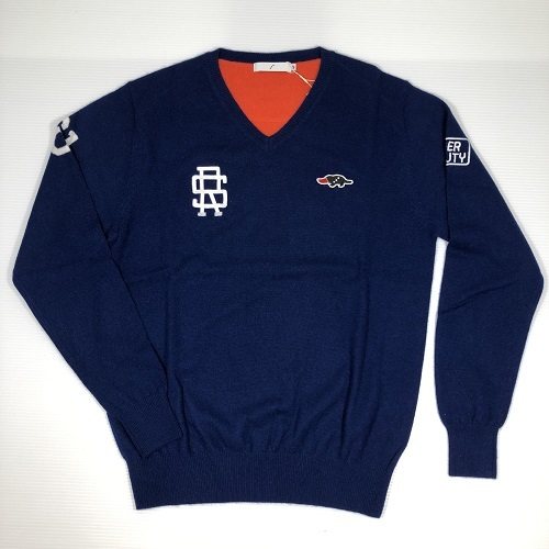 rough&swell ラフアンドスウェル RSM-17202 BONNEVILL。【Navy×Orange】
