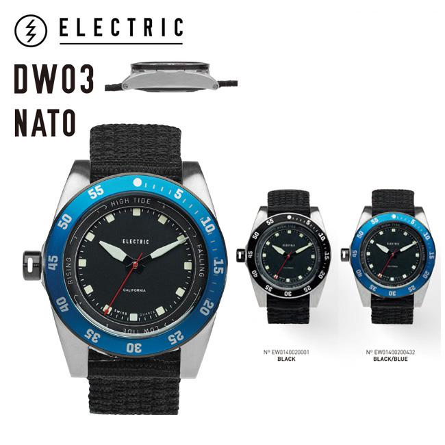 ELECTRIC DW03 NATO エレクトリック 時計 ウォッチ 腕時計 (DW3N2)【店頭受取対応商品】
