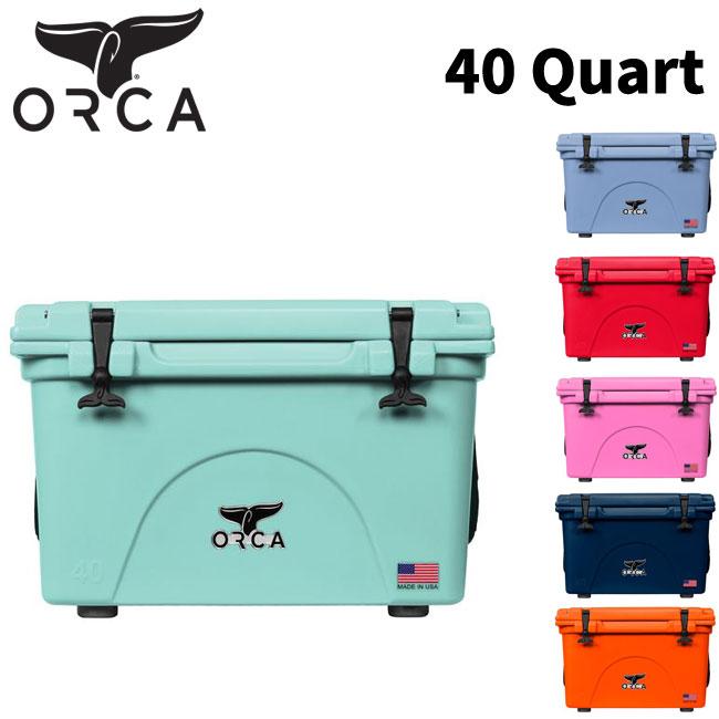 クーラーボックス ORCA オルカ Coolers 40 Quart キャンプ アウトドア【店頭受取対応商品】