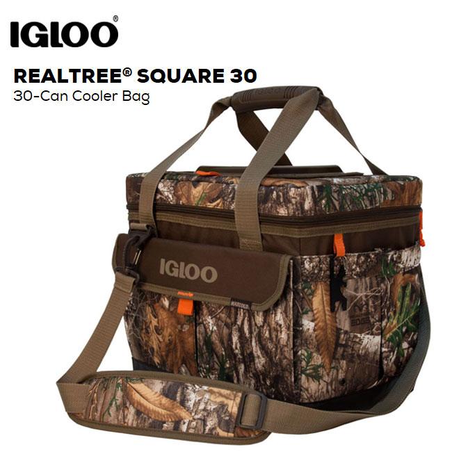 クーラーバッグ IGLOO イグルー REAL TREE Square 30 クーラーボックス キャンプ アウトドア【店頭受取対応商品】