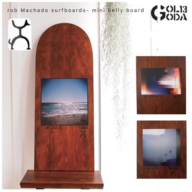 【最大3000円OFFクーポン配布中】ロブマチャド サーフボード Rob Machado surfboards - mini belly board ミニベリーボード【店頭受取対応商品】