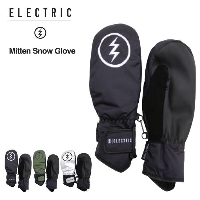 予約 グローブ ミット ELECTRIC エレクトリック MITTEN SNOW GLOVE ミトン スノーボード 手袋 19-20
