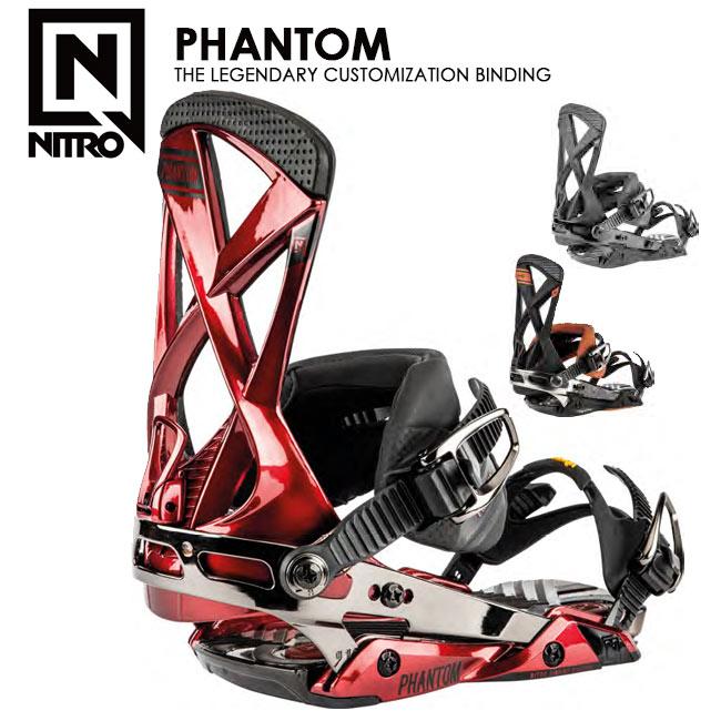 予約 ナイトロ ビンディング NITRO PHANTOM ファントム 19-20 MENS BINDING スノーボード バインディング【店頭受取対応商品】