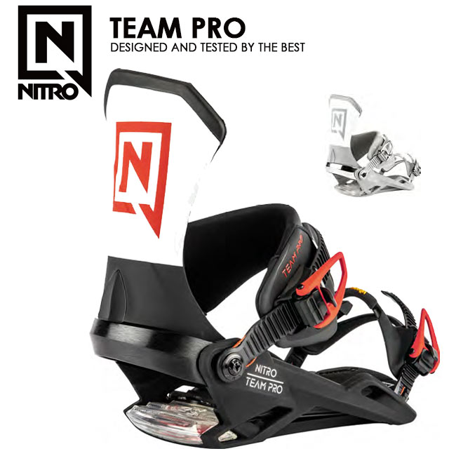 予約 ナイトロ ビンディング NITRO TEAM PRO チーム プロ 19-20 MENS BINDING スノーボード バインディング【店頭受取対応商品】