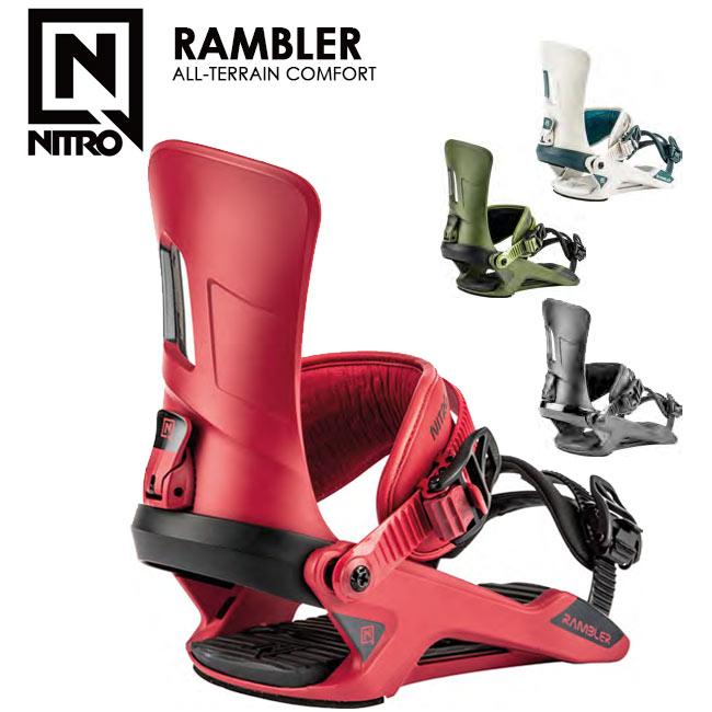 予約 ナイトロ ビンディング NITRO RAMBLER ランブラー 19-20 MENS BINDING スノーボード バインディング【店頭受取対応商品】