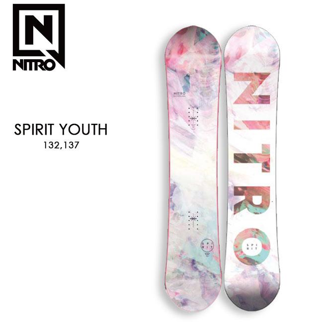 【予約】 ナイトロ スノーボード NITRO SNOWBOARD SPILIT YOUTH 20-21 スピリット キッズ FLAT-OUT フラット ツインチップ YOUTH KID'S 子供用 スノボー 板