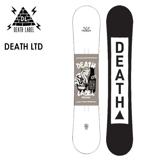 デスレーベル スノーボード DEATH LABEL DEATH LTD 19-20 デス リミテッド ハイブリッドキャンバー ツインチップ 板【店頭受取対応商品】