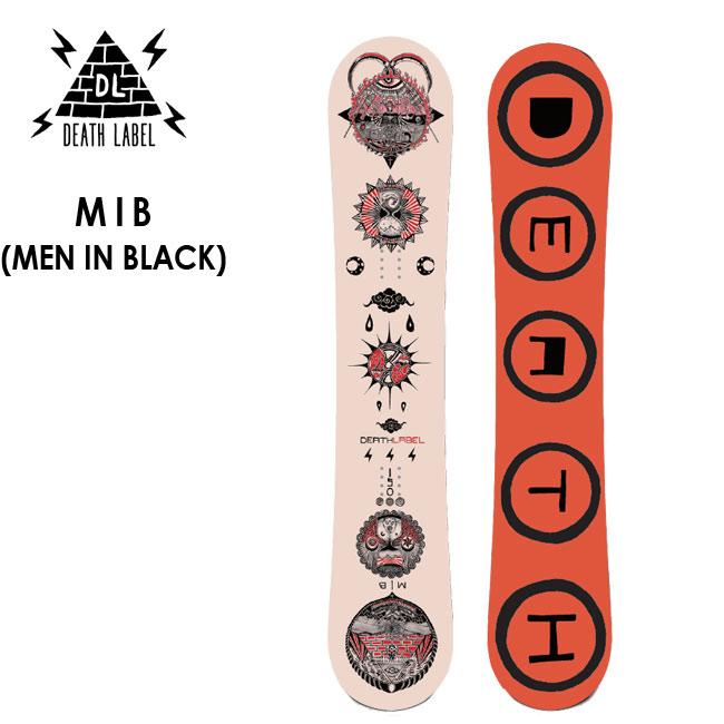 予約 デスレーベル スノーボード DEATH LABEL MEN IN BLACK MIB 19-20 メンインブラック キャンバー パーク ツインチップ オールマイティー 板【店頭受取対応商品】