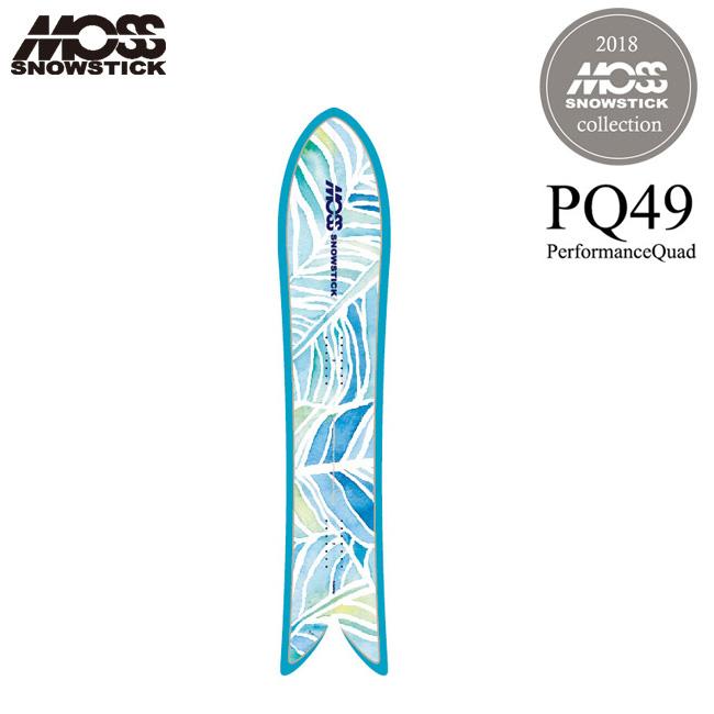 モス スノースティック MOSS SNOWSTICK PQ49 149cm レディース 18-19 パウダー サーフスタイル