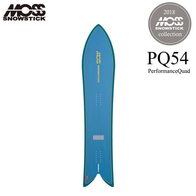 モス スノースティック MOSS SNOWSTICK PQ54 154cm 18-19 パウダー サーフスタイル