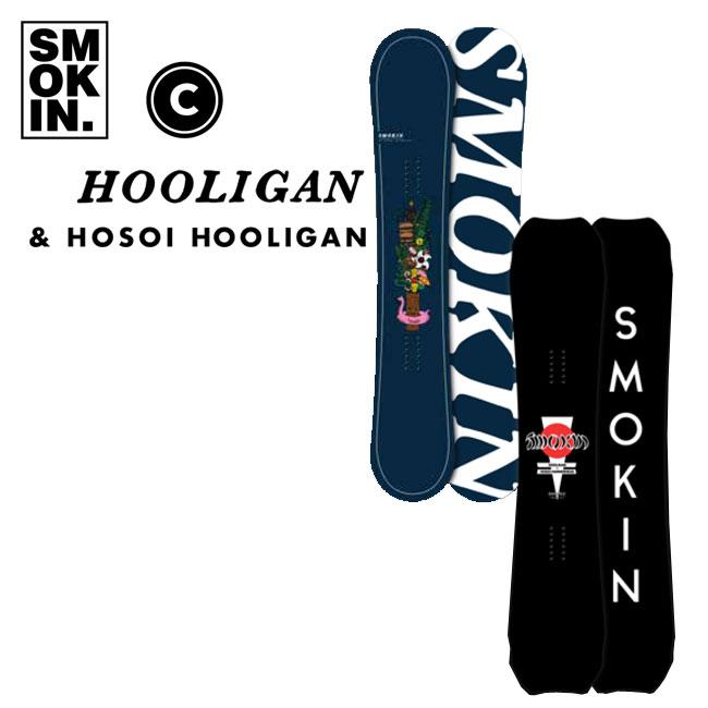 予約 スモーキン スノーボード SMOKIN HOOLIGAN 19-20 フラットロッカー FLAT ROCKER スモーキン スノーボード 板 SNOWBOARD
