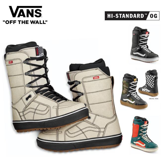 【予約】20-21モデル バンズ ブーツ VANS BOOTS HI-STANDARD OG ハイスタンダード オージー スノーボードブーツ スノボ
