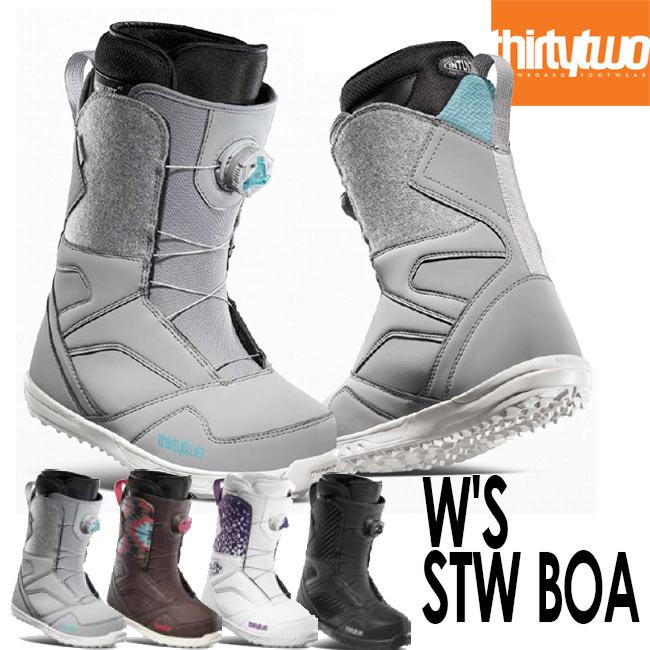 予約 20-21 サーティーツー ブーツ THIRTYTWO STW BOA W'S '20 32 BOOTS ボア スノーボード シューズ スノボ