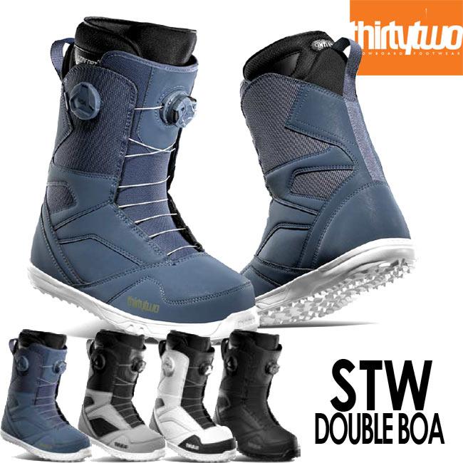 予約 20-21モデル THIRTYTWO ブーツ BOOTS STW DOUBLE BOA '20 32 サーティーツー スノーボード ブーツ スノボ