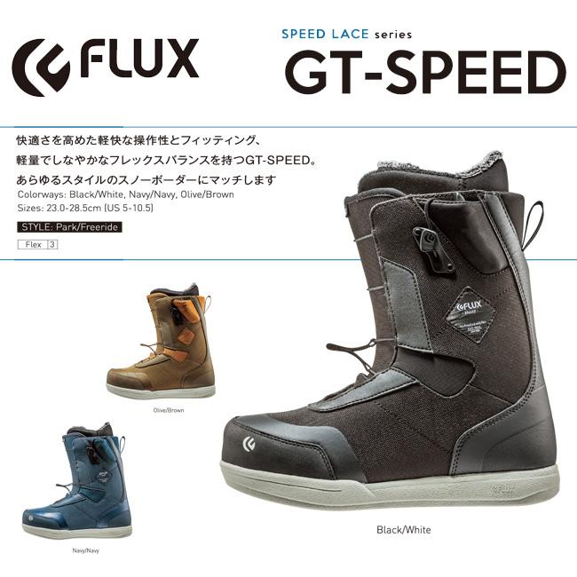 フラックス ブーツ 18-19モデル FLUX GT-Speed BOOTS メンズ レディース スノーボード スノボ SNOWBOARD