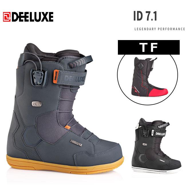 ディーラックス ブーツ 18-19 DEELUXE ID 7.1 TF アイディー サーモインナー メンズ サーモインナー スノーボード スノボ SNOWBOARD BOOTS【店頭受取対応商品】