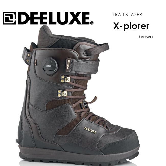 予約 ディーラックス ブーツ DEELUXE X-plorer TF 19-20 SNOWBOARD BOOTS サーモインナー スノーボード バックカントリー