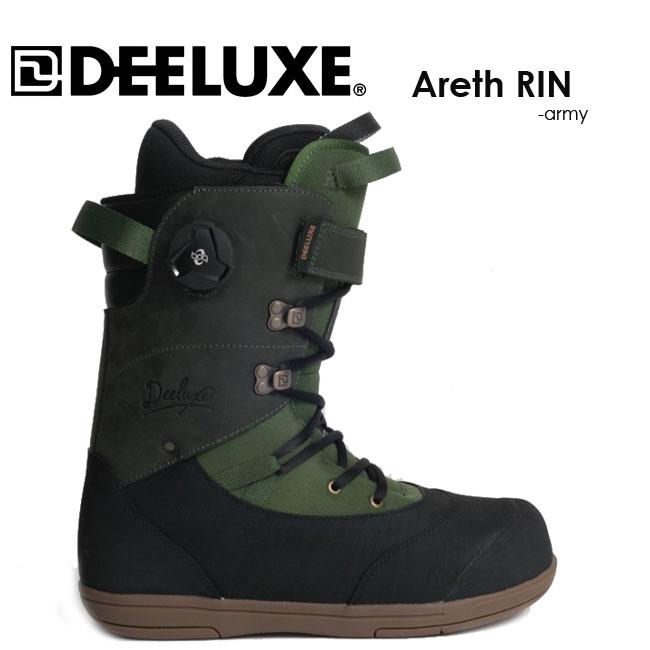 予約 ディーラックス ブーツ DEELUXE Areth RIN TF 19-20 SNOWBOARD BOOTS サーモインナー スノーボード バックカントリー アース リン