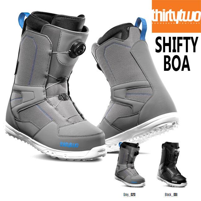 予約 サーティーツー ブーツ THIRTYTWO SHIFTY BOA '19 19-20 32 BOOTS ボア スノーボード シューズ スノボ【店頭受取対応商品】