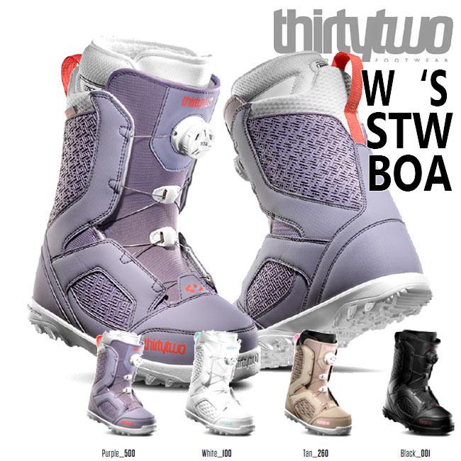 予約 サーティーツー ブーツ THIRTYTWO STW BOA W'S '19 19-20 32 BOOTS ボア スノーボード シューズ スノボ【店頭受取対応商品】