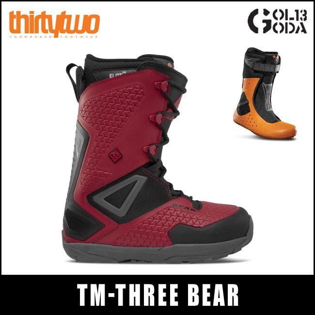 17-18モデル THIRTYTWO BOOTS TM-THREE BEAR 32 サーティーツー スノーボード ブーツ スノボ (QUICK STRIKE)
