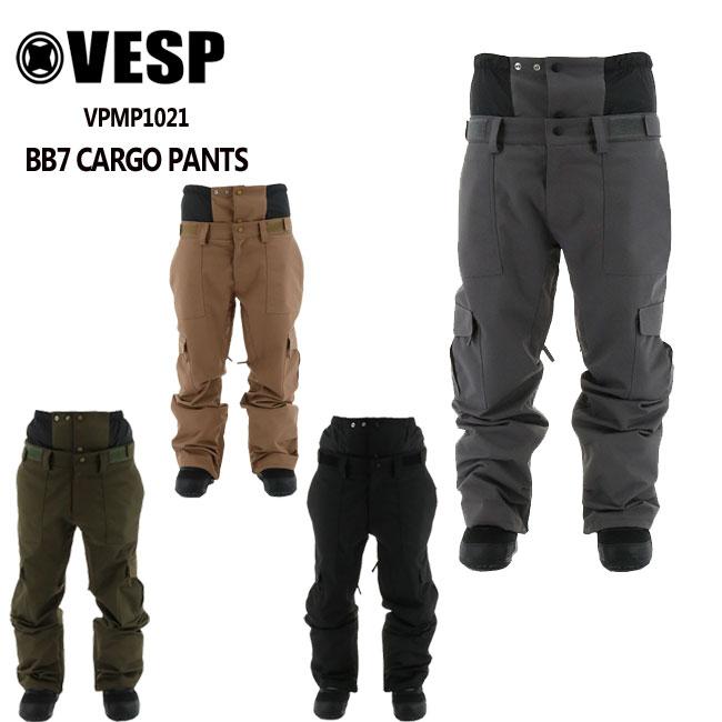 21-22モデル VESP SNOWBOARD PANTS 9 ブランド品 20限定最大30.5倍 予約 べスプ BB7 スノーボード VPMP1021 スノボーウェア 売れ筋 メンズ パンツ レディース 21-22 CARGO ウェアー