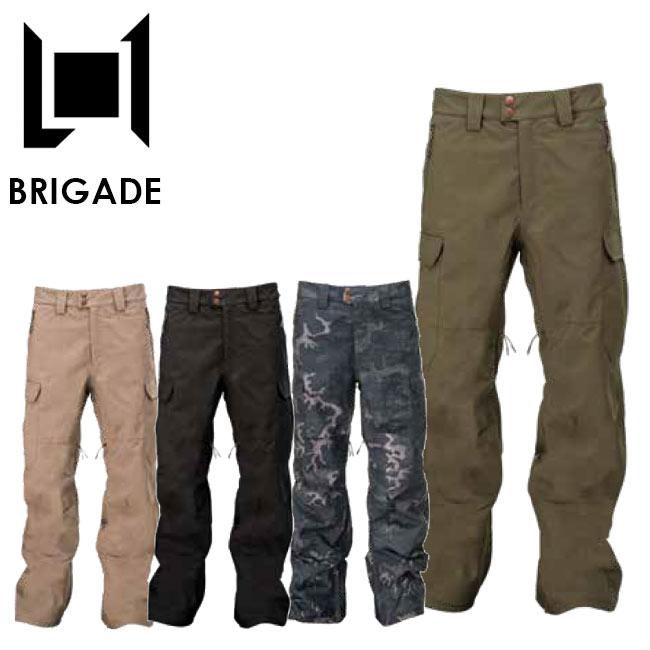 予約 エルワン パンツ L1 BRIGADE PANTS 19-20 スノボー ウェア メンズ スノーボード ウェアー スノボ【店頭受取対応商品】