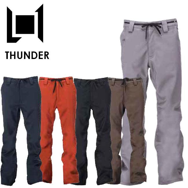 予約 エルワン パンツ L1 THUNDER PANT サンダーパンツ 19-20 スノボー ウェア メンズ スノーボード ウェアー スノボ【店頭受取対応商品】