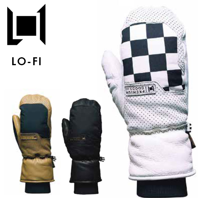 予約 エルワン ミット L1 LO-FI MITT19-20 レザー グローブ ミトン 皮 手袋 メンズ レディース スノーボード スノボ【店頭受取対応商品】