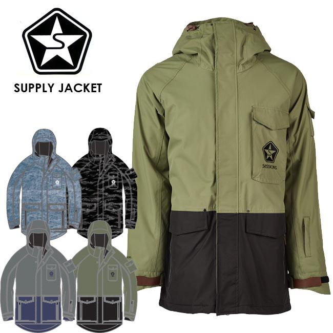 予約 セッションズ ジャケット SESSIONS SUPPLY JACKET 19-20モデル アウター スノーボード ウェアー スノボ