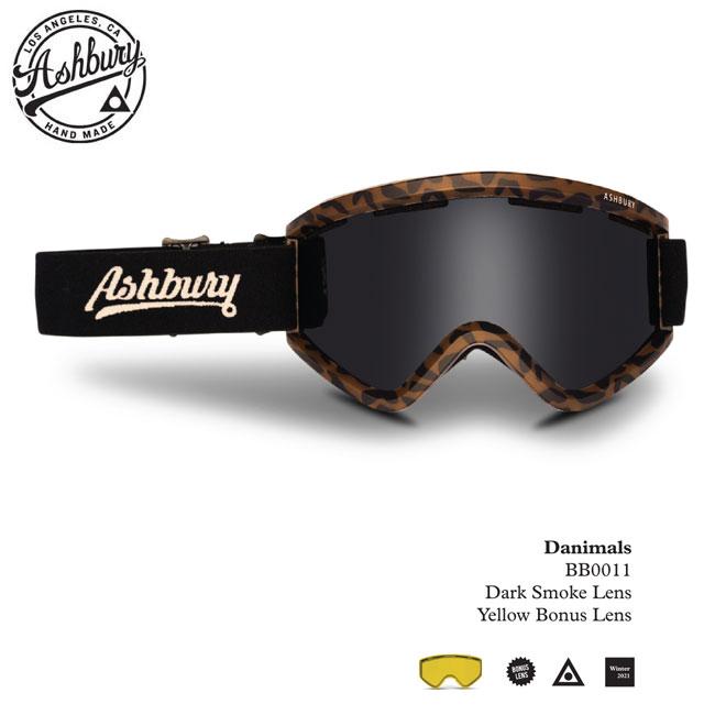 20-21モデル 国内正規品 メーカー公式ショップ ASIAN FIT 予約 スノーボードゴーグル 安い アシュベリー 20-21 メンズ DANIMALS BLACKBIRD ASHBURY レディース