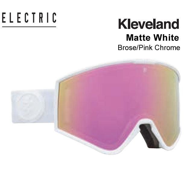 国内正規品 アジアフィット 人気激安 ASIAN FIT エレクトリック スノーボードゴーグル 予約 ゴーグル 希少 ELECTRIC スキー WHITE MATTE JAPAN スノボ KLEVELAND 20-21 クリーブランド エレク