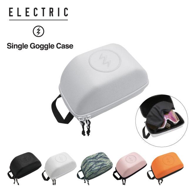 ゴーグルをしっかりガードできるハードケース ゴーグルケース ELECTRIC エレクトリック SINGLE CASE バッグ スノーボード スノボ 日本全国 送料無料 注目ブランド GOGGLE