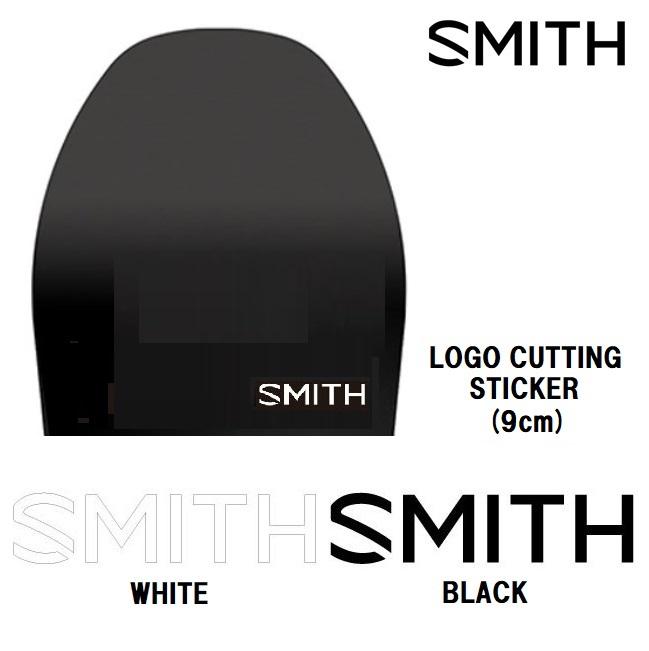 スミス ステッカー SMITH STICKER LOGO CUTTING 9cm (S) ロゴカッティング カッティング文字【店頭受取対応商品】